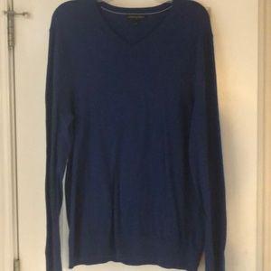 Banana Republic V-Neck Blue Sweater